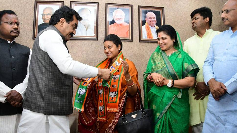 कांग्रेस नेत्री से कहा- पति को पार्टी में लाओ, उधर पति ने पत्नी को ही BJP में शामिल करवा दिया