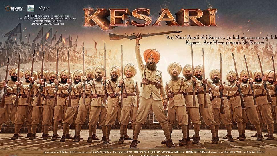'केसरी' मूवी रिव्यू: अक्षय की जबरदस्त एक्टिंग और दमदार डायलॉग हैं फिल्म की जान