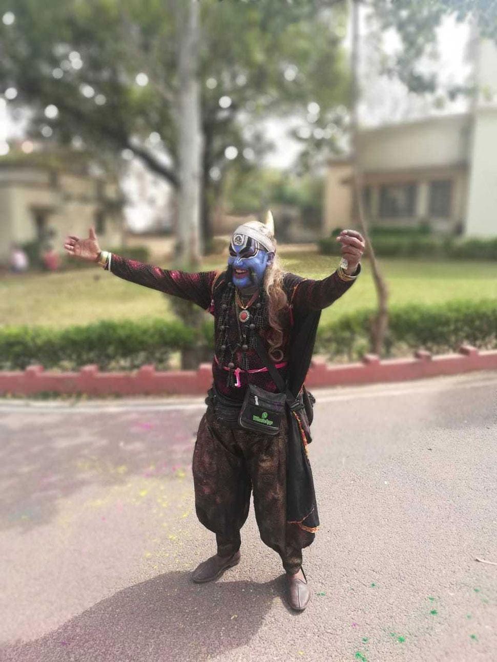 Holi 2019, Jaipur, Rajasthan Special Holi, Foreigners
