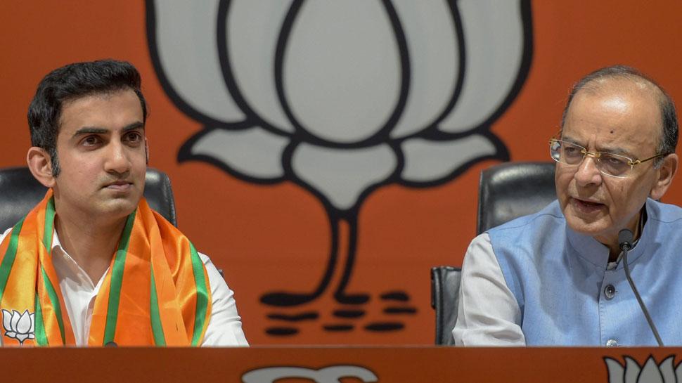 """बीजेपी ज्वॉइन करने के बाद बोले गंभीर, """"PM मोदी से प्रभावित होकर इस पार्टी में आया'"""