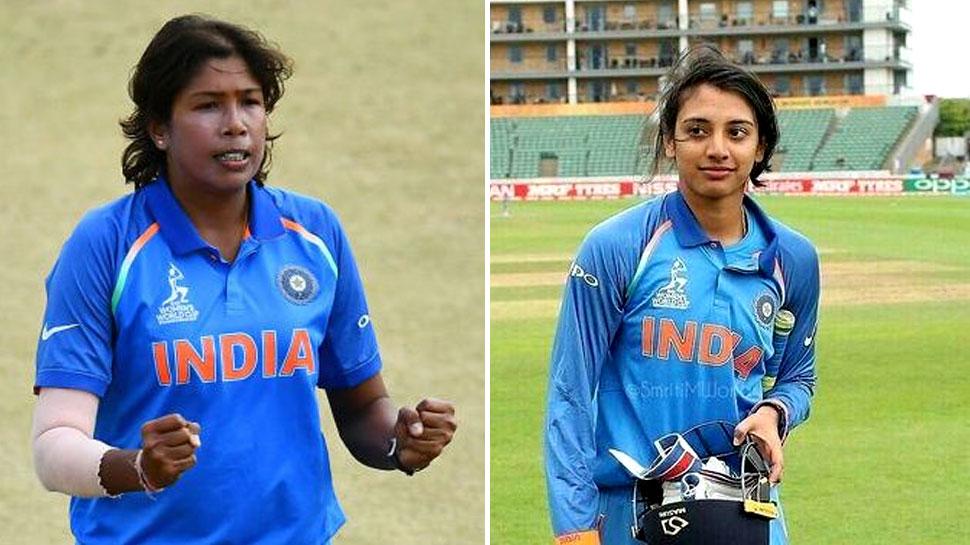 Ranking: महिला वनडे खिलाड़ियों की रैंकिंग में मंधाना और झूलन टॉप पर बरकरार