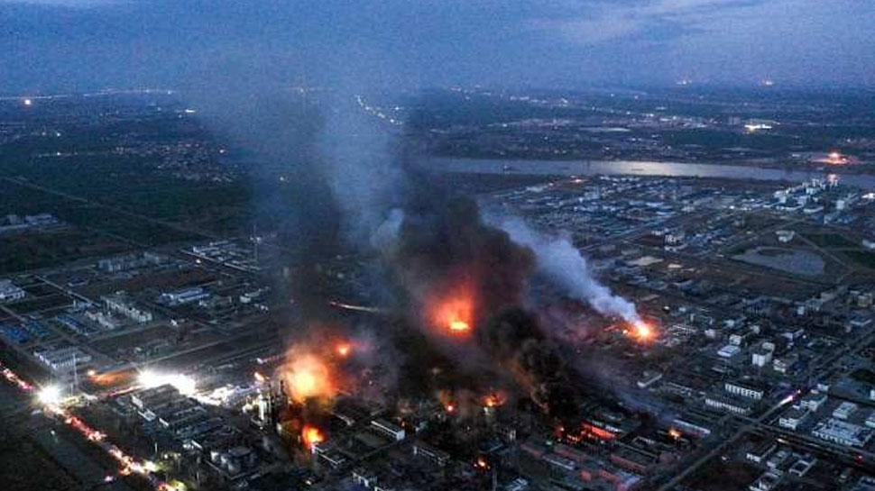 चीन: रासायनिक संयंत्र में हुए विस्फोट में मरने वालों की संख्या 64 हुई, कई लापता