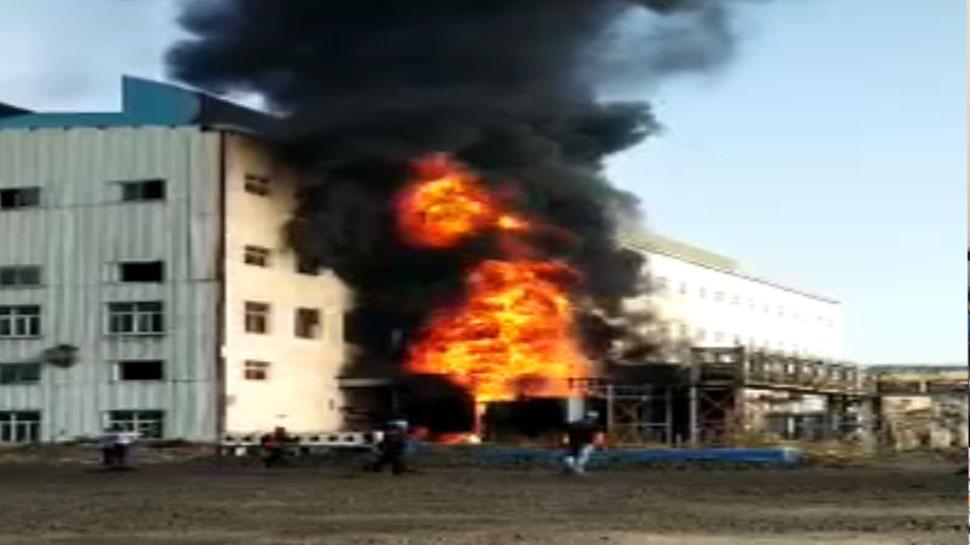 बोकारो स्थित वेदंता प्लांट में लगी भीषण आग, किसी के हताहत होने की खबर नहीं