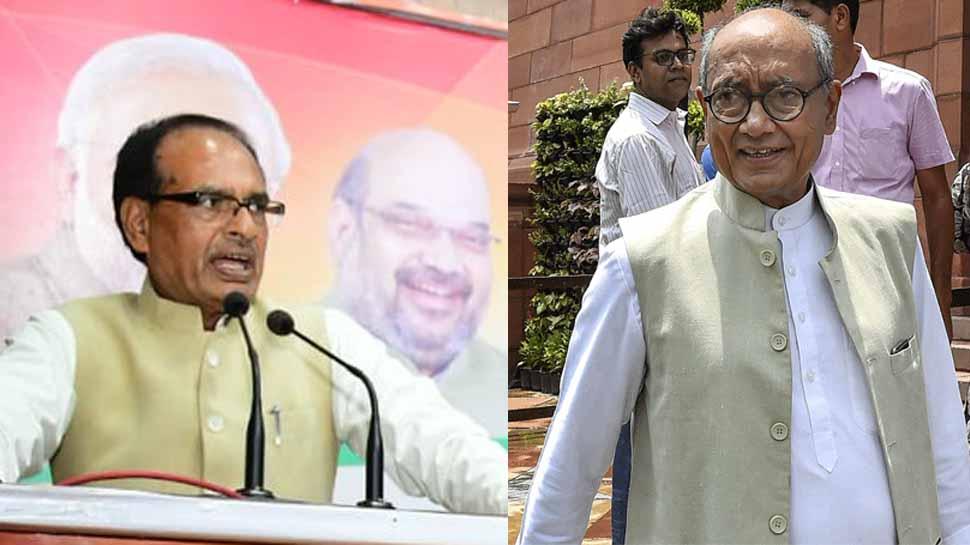 BJP ने अगर दिग्विजय के सामने उतारा शिवराज सिंह को तो दोहराई जाएगी 16 साल पुरानी जंग