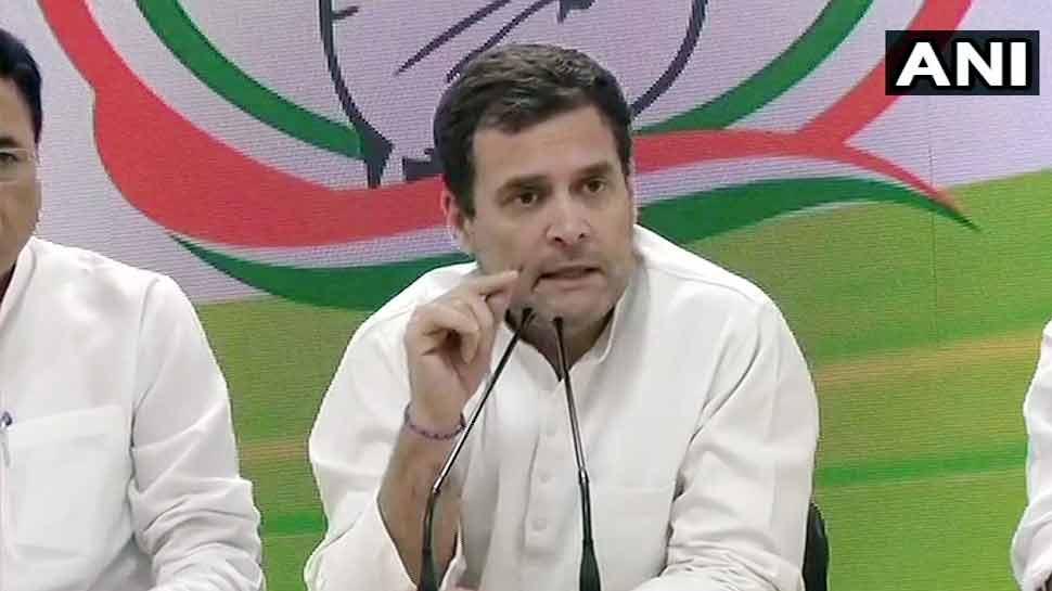 लोकसभा चुनाव में राहुल गांधी का बड़ा ऐलान- सत्ता में आए तो बैंक खाते में देंगे 72 हजार रुपए