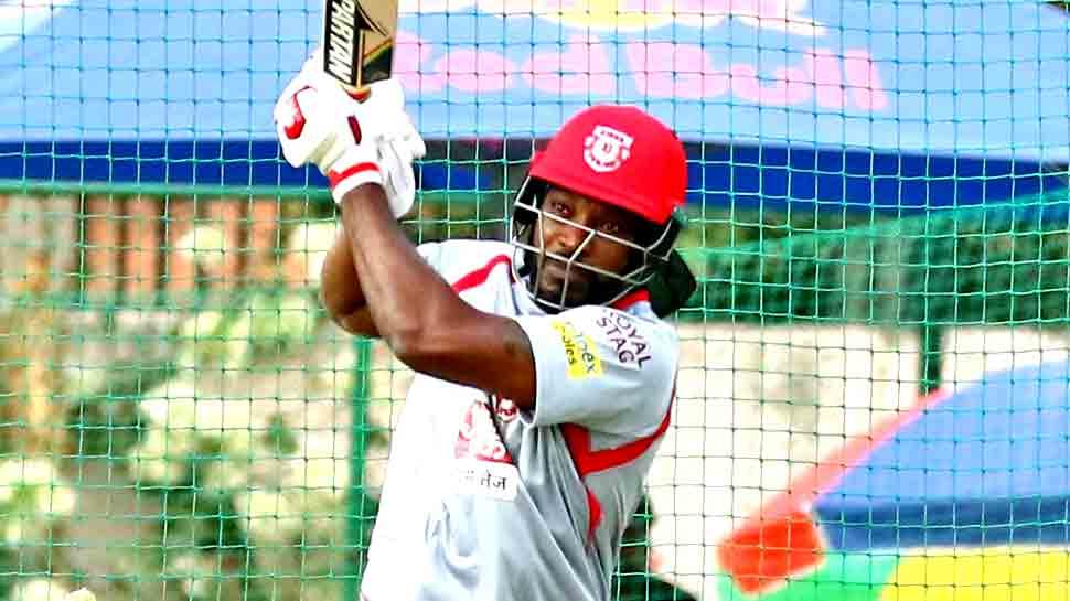 क्रिस गेल का एक और धमाका, सबसे तेज 4000 रन का रिकॉर्ड बनाया, राजस्थान को 185 रन का लक्ष्य