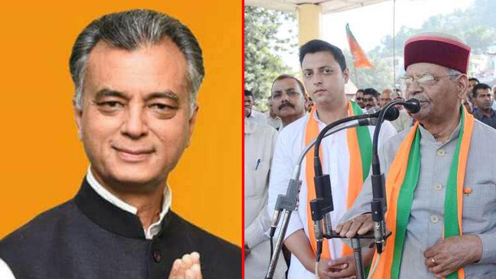 हिमाचल प्रदेश: पिता और बेटा बीजेपी छोड़ पहुंचे कांग्रेस में, कैबिनेट मंत्री अजय शर्मा धर्मसंकट में