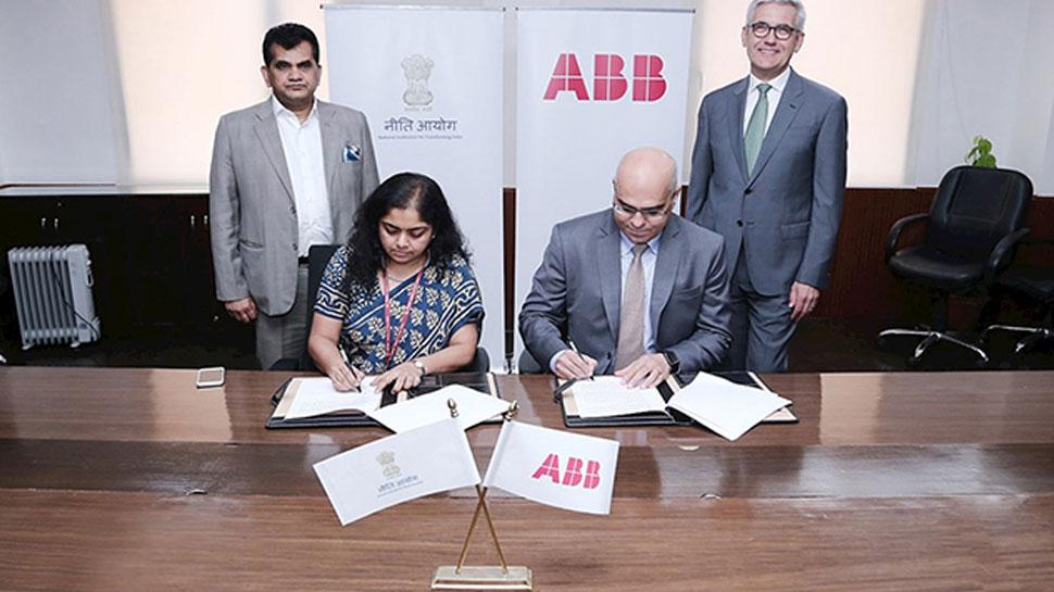 MSMEs द्वारा आर्टिफिशियल इंटेलिजेंस को अपनाने को लेकर NITI आयोग और ABB की वर्कशॉप
