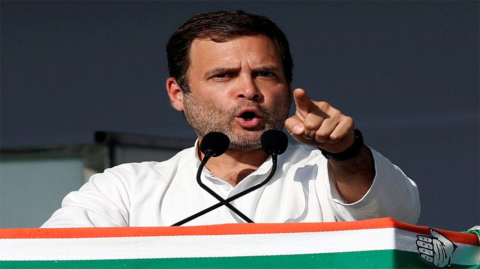 गरीबी पर 'सर्जिकल स्ट्राइक' है न्यूनतम आय योजना: राहुल गांधी