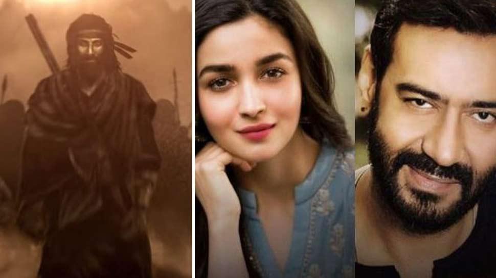 2020 में होगी बिग बजट फिल्मों की कड़ी टक्कर, आलिया-अजय से भिड़ेंगे रणबीर
