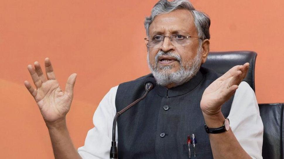 RJD ने औकात बता दी, तब कांग्रेस को गरीबों की याद आई : सुशील मोदी