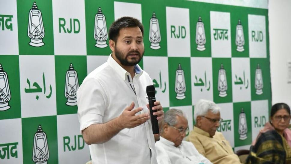 RJD ने कांग्रेस को दिया झटका, उत्तर प्रदेश में प्रचार करने से तेजस्वी यादव का इनकार