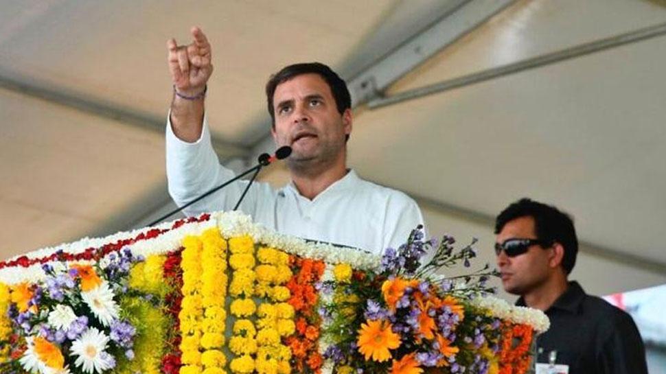 राहुल गांधी ने बूंदी में किया जन संबोधन, कहा- PM ने गरीबों की योजनाओं को कमजोर किया