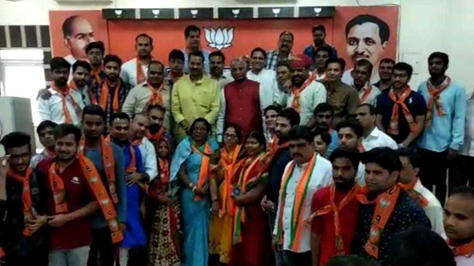 राजस्थान: घनश्याम तिवाड़ी को छोड़ वापस BJP में शामिल हुए भारत वाहिनी पार्टी के 100 कार्यकर्ता