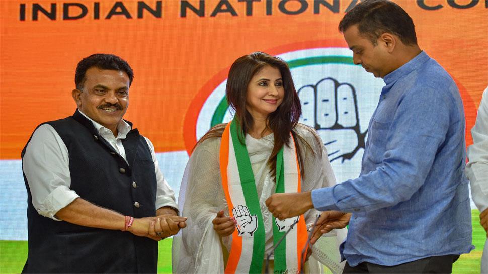 कांग्रेस में शामिल होने के बाद उर्मिला ने कहा, 'राजनीति में ग्लैमर के कारण नहीं आई हूं, विचारधारा खींच लाई'