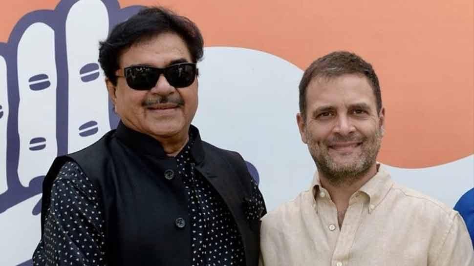 राहुल गांधी से मिलकर बोले शत्रुघ्न सिन्हा, नवरात्रि के मौके पर ज्वाइन करूंगा कांग्रेस