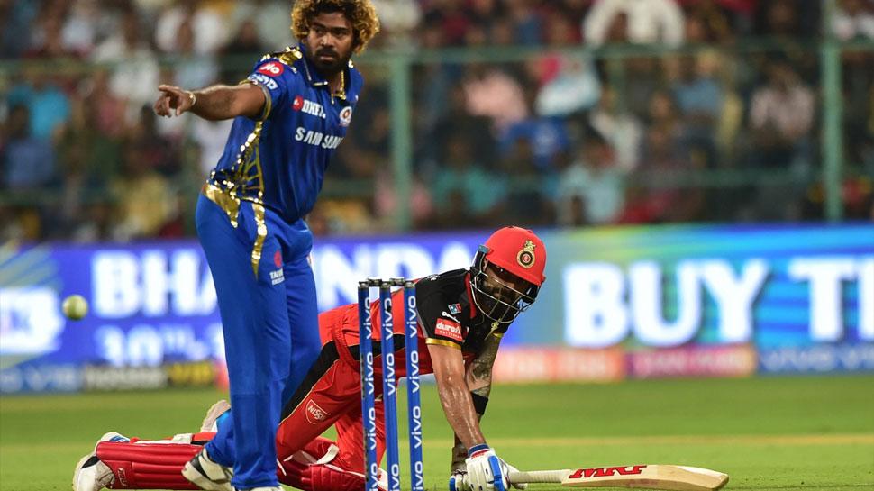 IPL 2019 RCB vs MI: कांटे की टक्कर में मुंबई ने 6 रन से बेंगलुरु को हराया