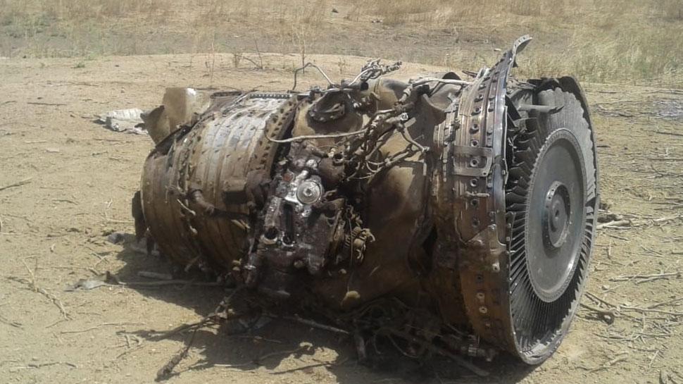 राजस्थान: सिरोही में मिग-27 फाइटर प्लेन हुआ क्रैश, पायलट सुरक्षित