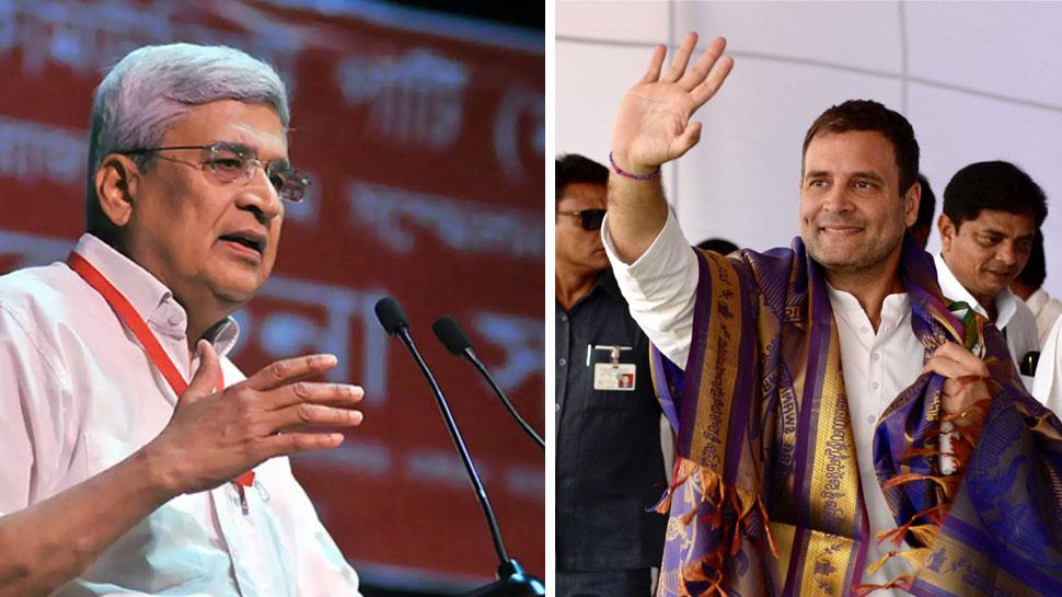 वायनाड में राहुल गांधी को हराने के लिए काम करेंगे : प्रकाश करात