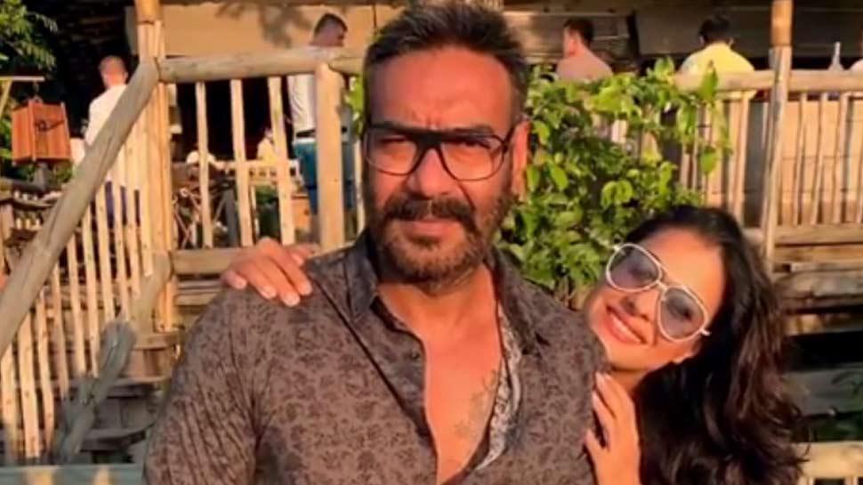 अजय देवगन के 50वें बर्थडे पर काजोल ने कही दिल की बात, 'अब ज्यादा हैंडसम लगते हो'