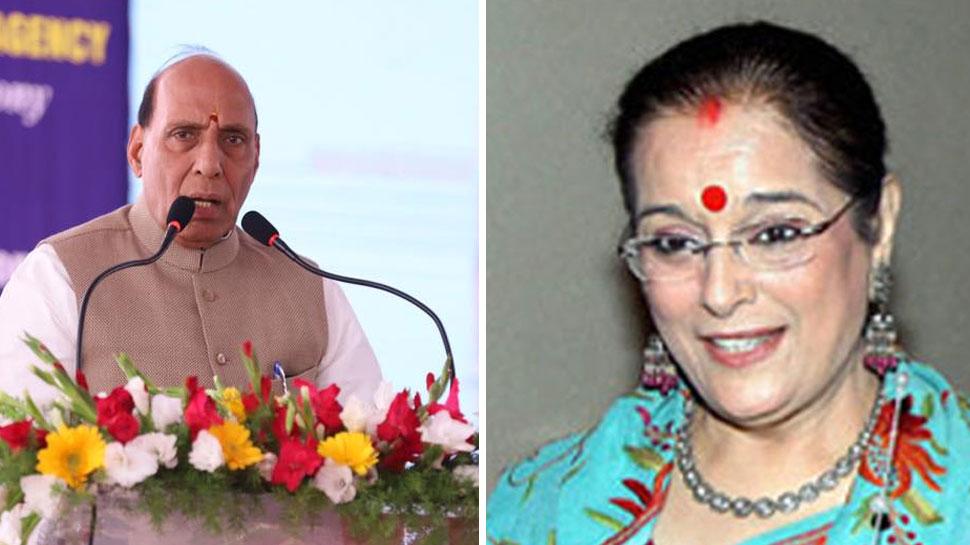 शत्रुघ्न सिन्हा की पत्नी पूनम सिन्हा लखनऊ से राजनाथ के खिलाफ लड़ सकती हैं चुनाव : सूत्र
