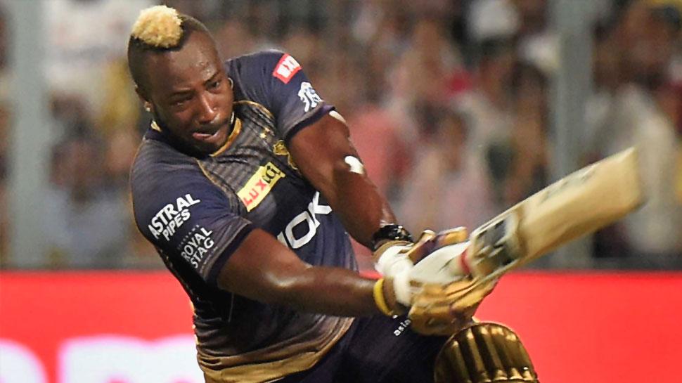 IPL 2019, RCBvKKR: आंद्रे रसेल ने की छक्कों की बारिश, बेंगलुरु से छीन ली जीत