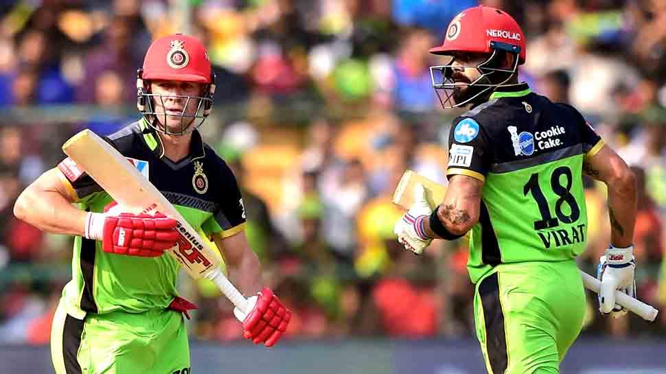 IPL-12: ग्रीन जर्सी में मैदान पर उतरे 'विराट के चैलेंजर्स', क्या रंग के साथ बदलेगी किस्मत