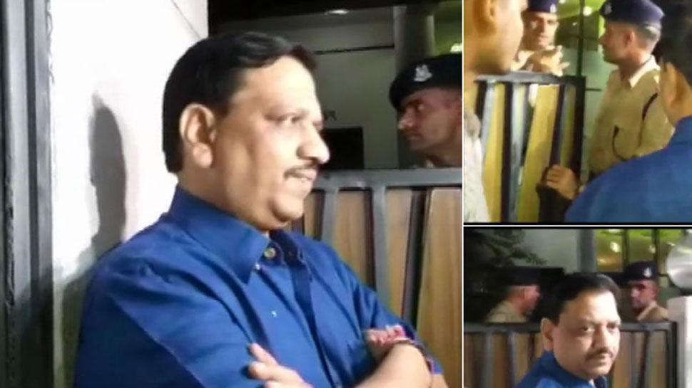 इंदौर: कक्कड़ के घर में CRPF के जवान और बाहर MP पुलिस के कर्मी, मौके पर पहुंचीं एसएसपी