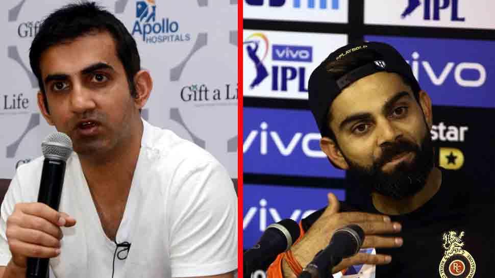 IPL-12: गौतम गंभीर ने कोहली को बताया नौसिखिया कप्तान, कहा- उन्हें अभी और सीखने की जरूरत