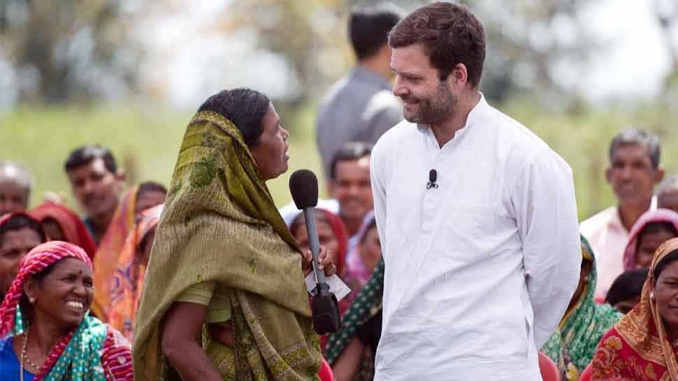 राहुल गांधी बोले- BJP का घोषणा पत्र अहंकार से भरा, एक कमरे में बैठकर किया गया तैयार