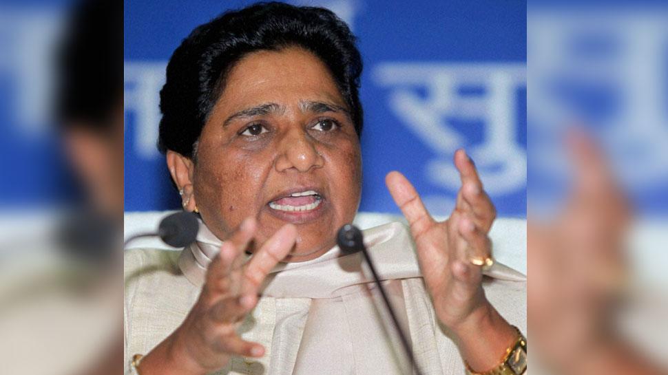 BJP ने UP मुख्य निर्वाचन अधिकारी को मायावती के खिलाफ सौंपा ज्ञापन