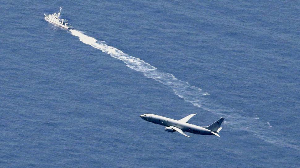 प्रशांत महासागर में मिला जापान के लड़ाकू विमान F-35का मलबा, पायलट अब भी लापता