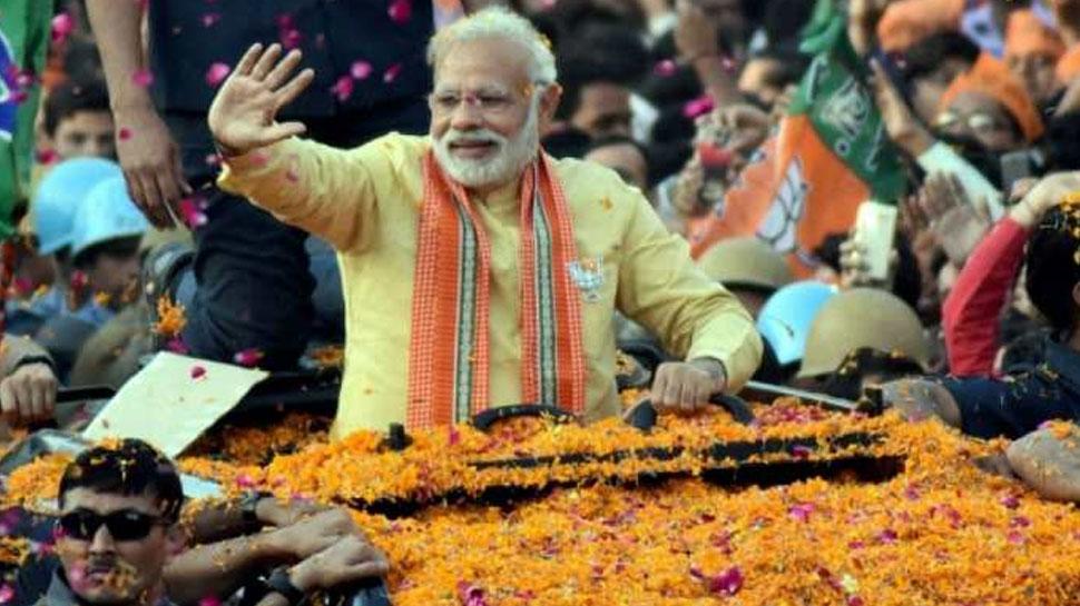 वाराणसी में 25 अप्रैल को मेगा रोड शो करेंगे PM मोदी, 26 को भरेंगे नामांकन
