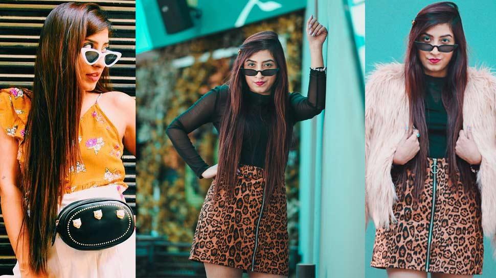 PHOTOS : सोशल मीडिया सेंसेशन एमी छाबड़ा बनीं फैशन इंडस्ट्री की नई पहचान