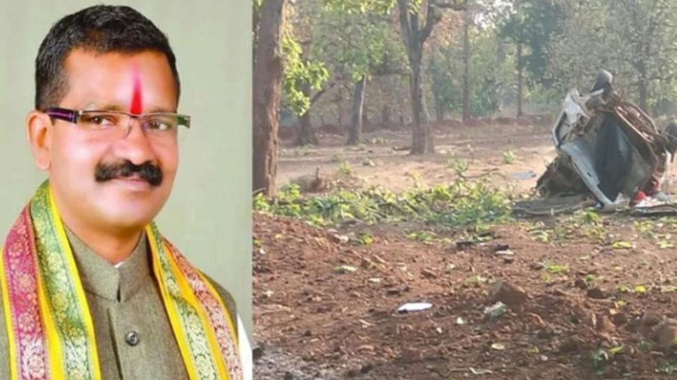 दंतेवाड़ा में बीजेपी विधायक पर नक्सली हमले में सौ नक्सलियों के शामिल होने की आशंका