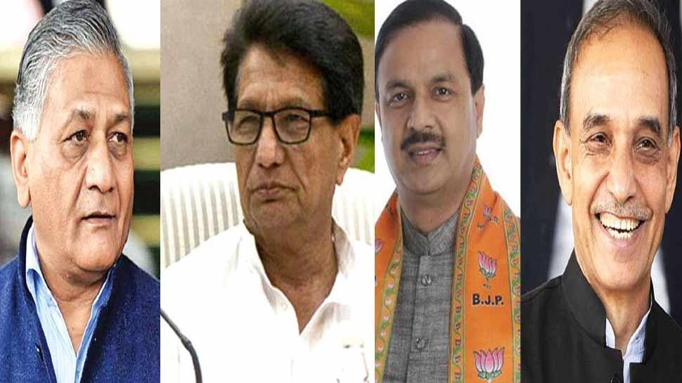 पहले चरण में अजीत सिंह समेत मोदी सरकार के इन तीन मंत्रियों की प्रतिष्ठा दांव पर