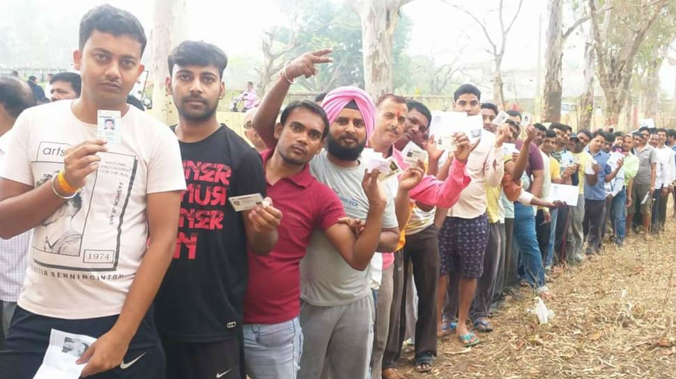 See the pics of first phase elections in Bihar