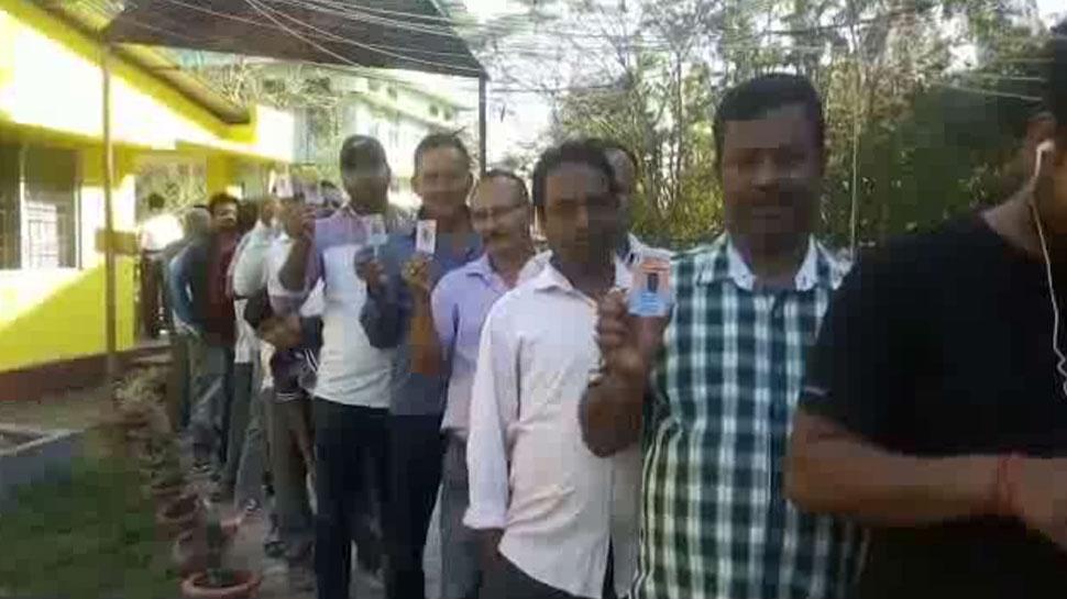 लोकसभा चुनाव: पहले चरण के दौरान असम में 65 प्रतिशत मतदान, कोलियाबोर से गौरव गोगोई भी मैदान में
