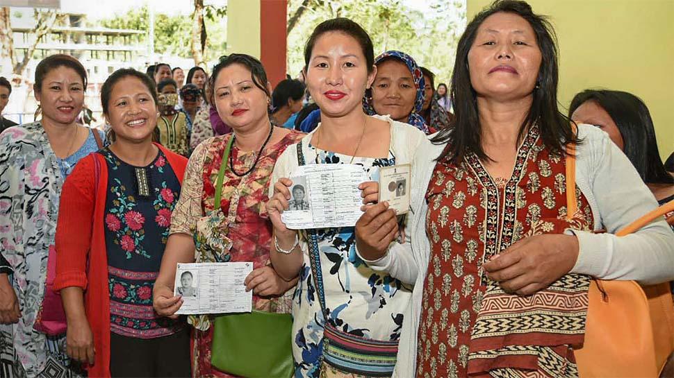 लोकसभा चुनाव: पहले चरण की वोटिंग खत्म, यूपी में 63 बंगाल में 81% मतदान, त्रिपुरा सबसे आगे