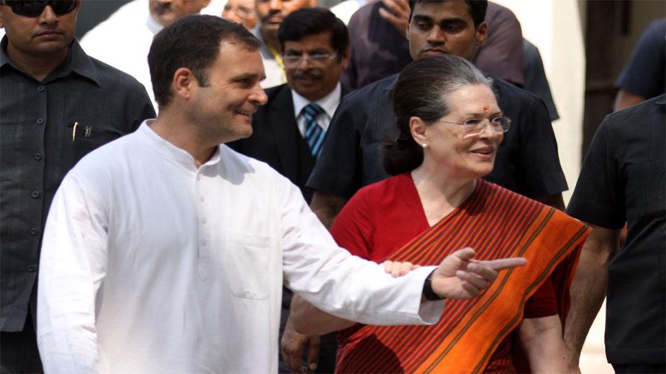 सोनिया गांधी के पास 11.82 करोड़ रुपये की संपत्ति, राहुल को दिया है पांच लाख रुपये का कर्ज