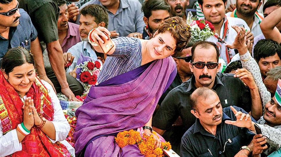 लोकसभा चुनाव 2019: राजस्थान में प्रियंका गांधी के 'रोड शो' की जमकर हो रही है डिमांड