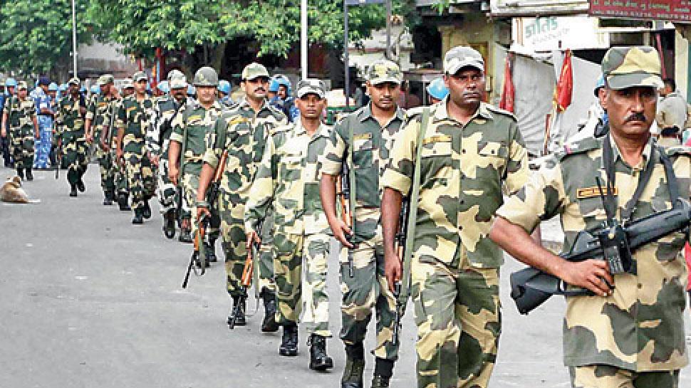 राजस्थान: भयमुक्त मतदान के लिए डूंगरपुर में हो रहा है फ्लैग मार्च, 29 अप्रैल को है मतदान