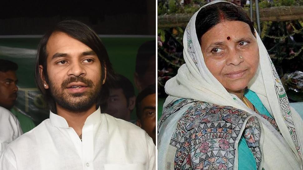 लोकसभा चुनाव : राबड़ी देवी का दावा, कहा- 'जल्द ही घर वापस लौटेंगे तेजप्रताप यादव'
