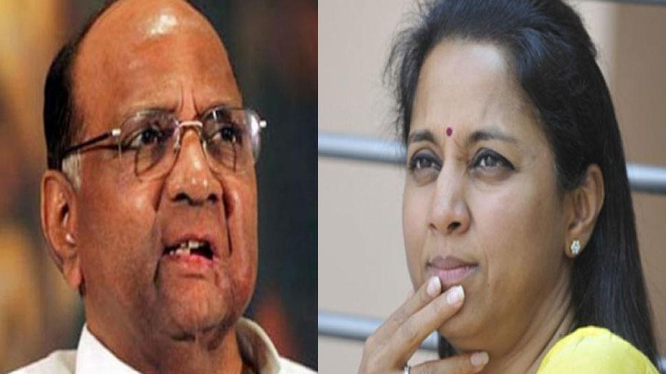 लोकसभा सीट 2019: बारामती सीट ने उड़ाई NCP अध्यक्ष शरद पवार की नींद, मैदान में है बेटी