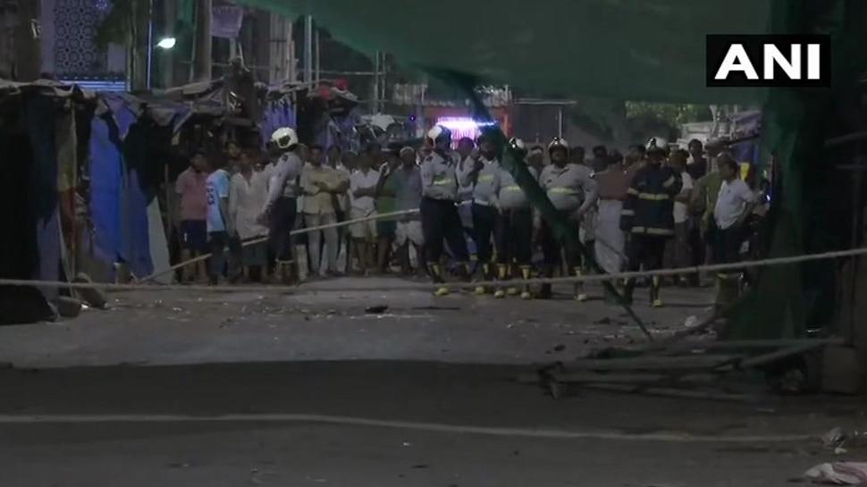 मुंबई के धारावी में निर्माणाधीन बिल्डिंग ढहने से 1 की मौत, 3 घायल