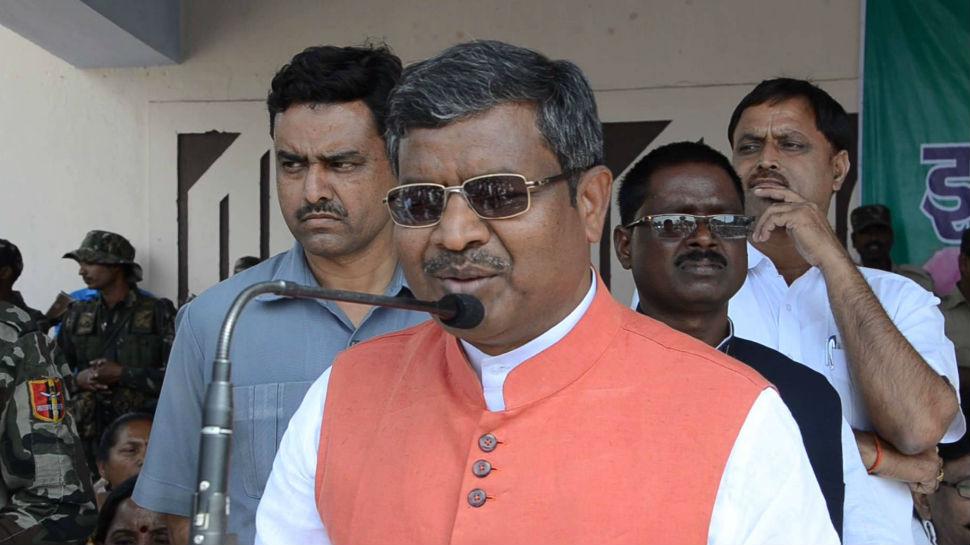 कोडरमा: बाबूलाल मरांडी ने दाखिल किया नामांकन, साथ में दिखे महागठबंधन के नेता