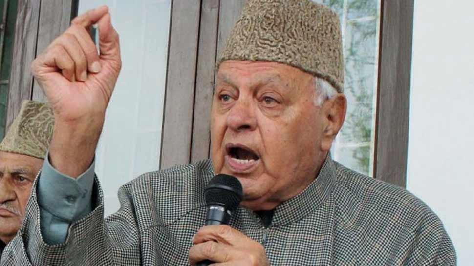 फारुख अब्दुल्ला का एक और विवादित बयान, बोले- भारत को तोड़ना चाहता तो हिंदुस्तान होता ही नहीं