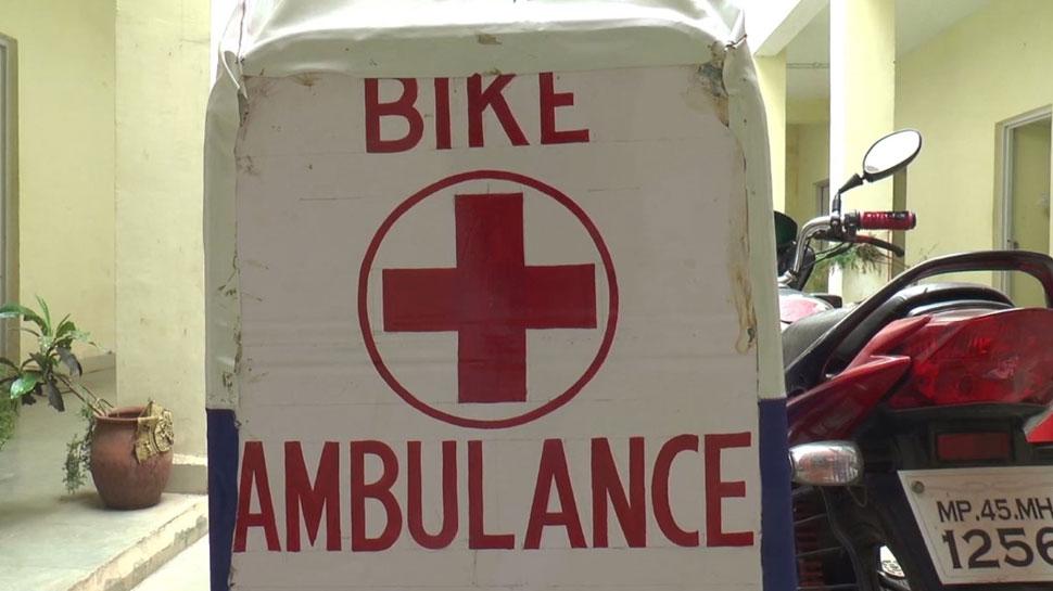 Health officials also praised the bike ambulance
