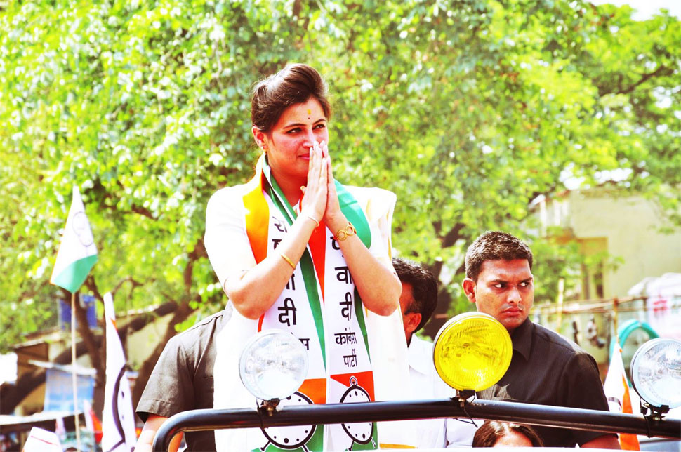 General elections 2019, Navneet Kaur Rana