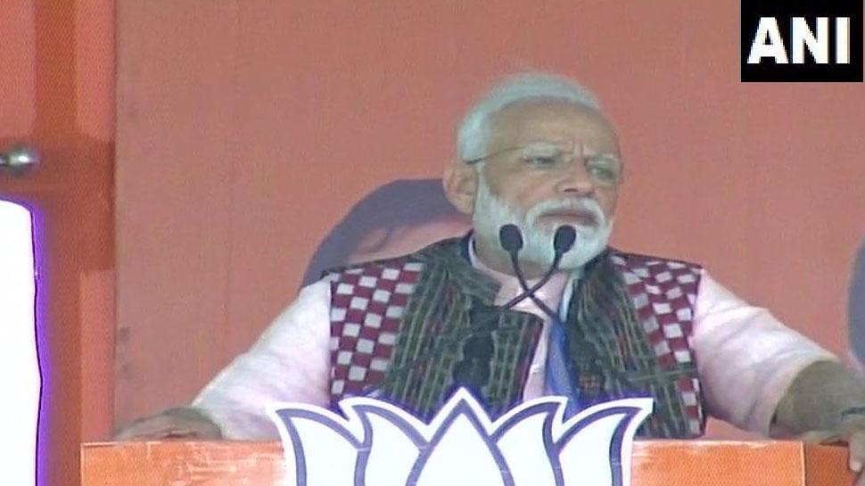 ओडिशा में बोले प्रधानमंत्री मोदी, 'कोई भी दलाल जनता के पैसों पर 'पंजा' नहीं मार पाएगा'